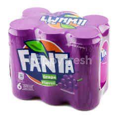 Fanta Grape Flavour Soft Drink