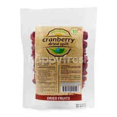 Trio Natural Cranberry Dried Split