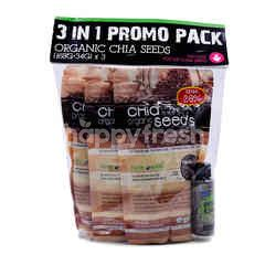 Love Earth Organic Chia Seeds (3 Packs)