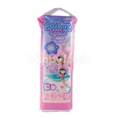 Pokana Popok Celana Bayi Super Girls Tipis & Lembut Ukuran XL