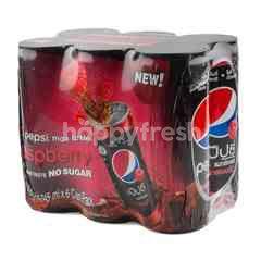 Pepsi Max Soft Drink Raspberry Flavour No Sugar Pack