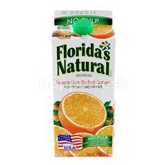 Florida'S Natural Premium Orange Juice No Pulp