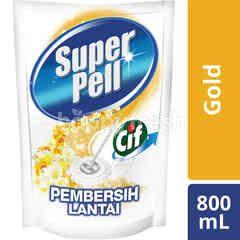 Super Pell Cif Advanced Shine Floor Cleaner Gold