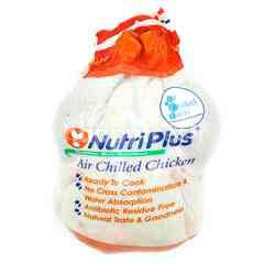 NUTRI PLUS Air Chilled Whole Chicken