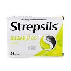 Strepsils Sugar Free Lemon