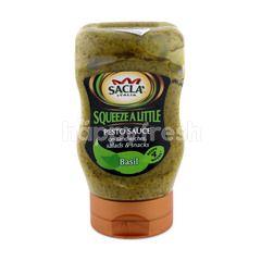 Sacla Squeeze A Little Basil Pesto Sauce