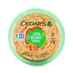 Cedar's Gardem Vegetable Hommus