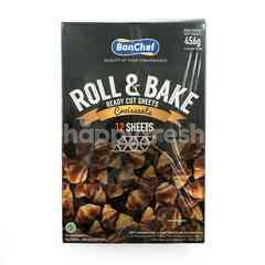 Bonchef Roll & Bake Ready Cut Sheets Croissants