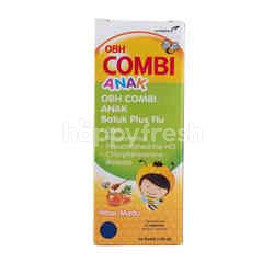 Combiphar Medicates Cough and Flu with Honey Flavor