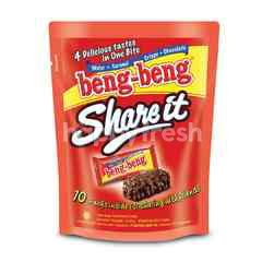 Beng-Beng Share It Wafer Cokelat dengan Sereal