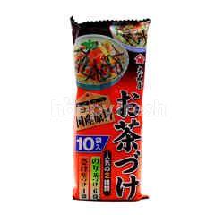 Oomoriya Japanese Omori House Popular Tea Stains (Salmon & Seaweed)