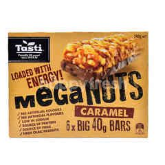 Tasti Meganuts Caramel Bars