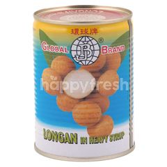 Global Brand Longan in Heavy Syrup