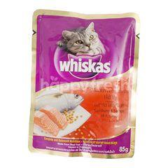 Whiskas Makanan Kucing Rasa Ikan Kembung & Salmon