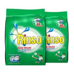 Rinso Anti Stain Detergent Classic Fresh Twinpack