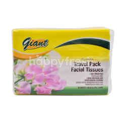 Giant Travel Pack Facial Tissues (100 Pieces)
