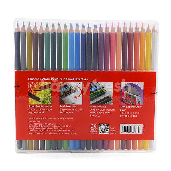 FABER CASTELL Classic Colour Pencil (24 Pieces)