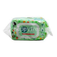Fred & Flo Fragrance Free Baby Wipes (80 Pieces)