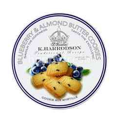 K.HARRODSON Traditional Recipe Blueberry & Almond Butter Cookies