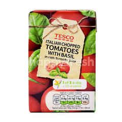 Tesco Italian Chopped Tomatoes With Basil