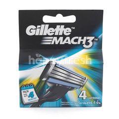 Gillette Mach 3 Catridge Razor