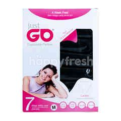 Just Go White Disposable Panties Ladies M (7 pieces)