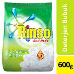Rinso Anti Stain Powder Laundry Detergent with Crystal Blue