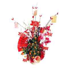 Emme Florist Lunar Year Table Orange Tree