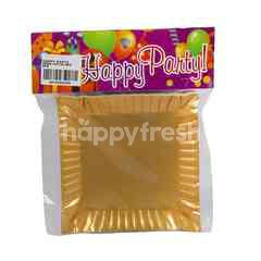 Happy Party Rectangular Paper Plate