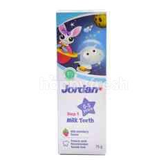 Jordan Step 1 Milk Teeth Toothpaste (0-5 Years)