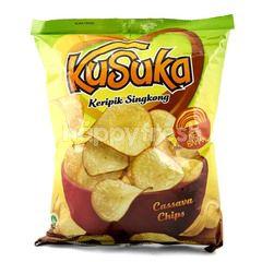 Kusuka Cassava Chips Cheese