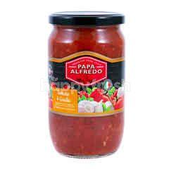 Papa Alfredo Tomato & Garlic