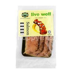 Mustard Graved Lax Salmon