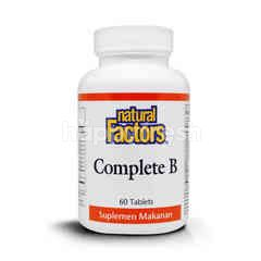 Natural Factor Complete B 100mg