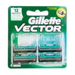 Gillette Vector Blades For Men