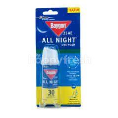 Baygon All Night One Push Anti Mosquito Citrus Fresh