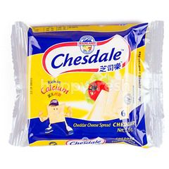 Chesdale Cheddar Cheese Slices Spread