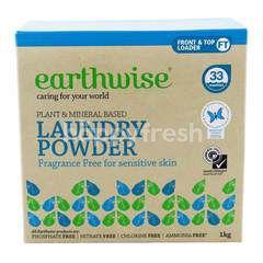 Earthwise Fragrance Free For Sensitive Skin Laundry Powder
