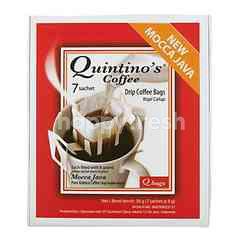 Quintino's Drip Coffee Bags 7 Sachet Mocca Java