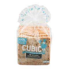 คิวบิค ขนมปังแซนด์วิช โฮลวีตธัญพืช 19 ชนิด