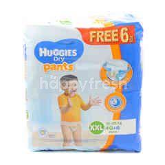 HUGGIES Dry Pants XXL 46 Pieces