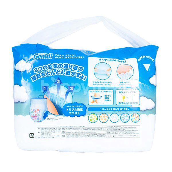 Nepia Genki Premium Soft Baby Pants Diapers Size XL