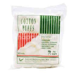 PAN-MATE Cotton Puffs (60 Balls)