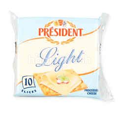 President Processed Cheese Light