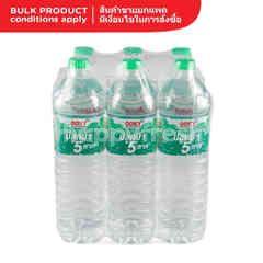 ออรา ออร่า น้ำแร่ธรรมชาติ 100% 1.5 ลิตร (แพ็ค 4)