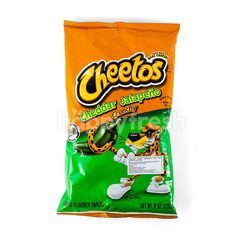 Cheetos Cheddar Jalapeno Crunchy Snacks