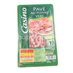 Casino Pepper-Coated Salami 10 Slices