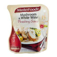 MasterFoods Saus Finishing dengan Jamur dan Anggur Putih