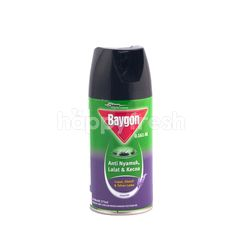 Baygon Mosquitos Flies and Cockroaches Repellent with Lavender Fragrance
