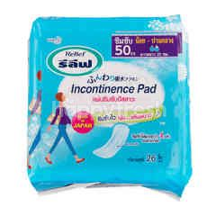 Relief Incontinence Pad 26 Pcs